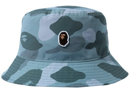 Bape Color Camo One Point Bucket Hat Gray (SS21)の写真