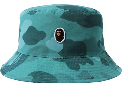 Bape Color Camo One Point Bucket Hat Green (SS21)の写真