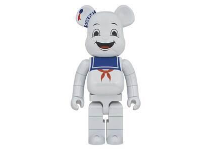 Be@rbrick Stay Puft Marshmallow Man White Chrome Ver 1000%の写真