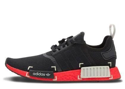 adidas NMD R1 Black Grey Scarletの写真