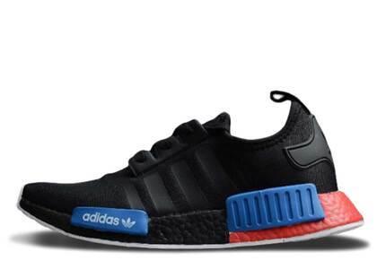 adidas NMD R1 Black Red Blueの写真