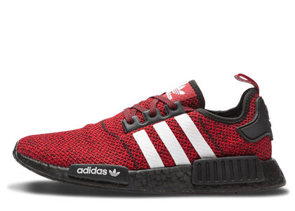 adidas NMD R1 Carbon Red White Blackの写真
