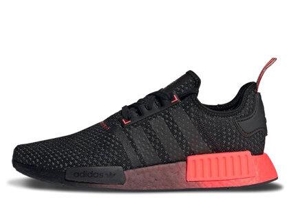 adidas NMD R1 Core Black Signal Pinkの写真