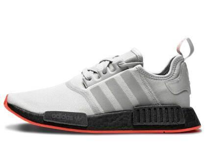 adidas NMD R1 Grey Solar Redの写真