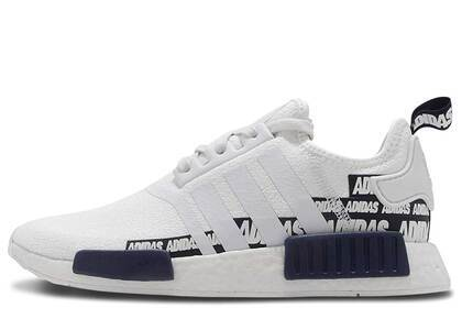 adidas NMD R1 Label Pack Crystal Whiteの写真