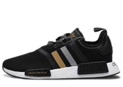 adidas NMD R1 Shoe Palace Black and Goldの写真