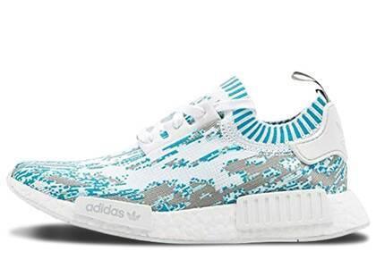 adidas NMD R1 Sneakersnstuff Datamosh Clear Aquaの写真