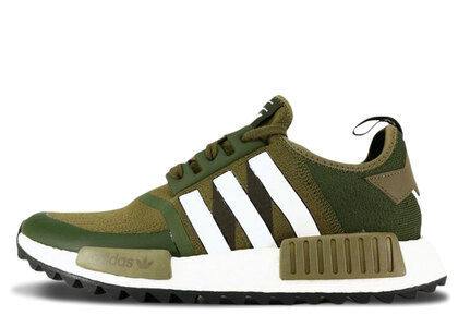 adidas NMD R1 Trail White Mountaineering Trace Oliveの写真
