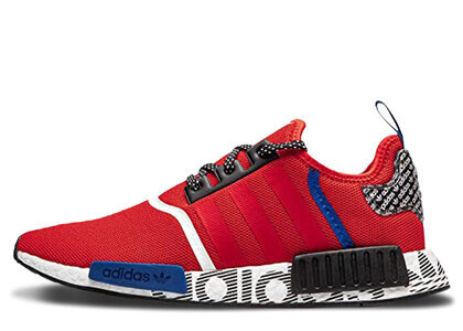 adidas NMD R1 Transmission Pack Active Redの写真