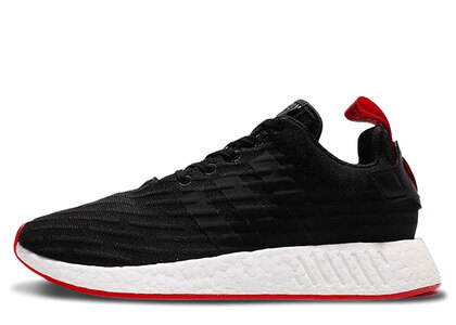 """adidas NMD R2 Core Black Red Two Toned""""""""の写真"""