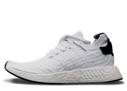 adidas NMD R2 White Blackの写真