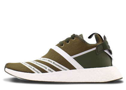 adidas NMD R2 White Mountaineering Trace Oliveの写真