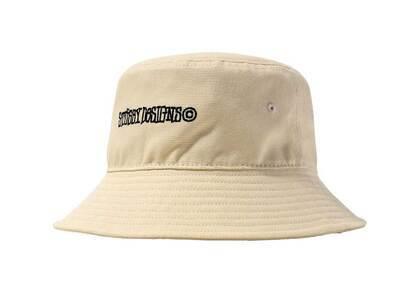 Stussy Canvas Wide Brim Bucket Hat Natural (SS21)の写真