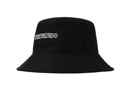 Stussy Canvas Wide Brim Bucket Hat Black (SS21)の写真