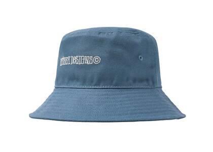 Stussy Canvas Wide Brim Bucket Hat Light Blue (SS21)の写真