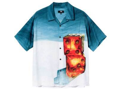 Stussy Dice Painting Shirt Blue (SS21)の写真