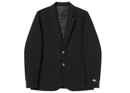 Stussy Seersucker Sport Coat Black (SS21)の写真