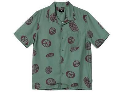 Stussy Icon Pattern Shirt Olive (SS21)の写真