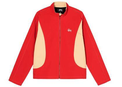 Stussy Panel Track Jacket Red (SS21)の写真