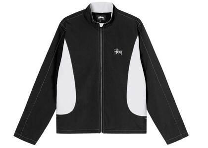 Stussy Panel Track Jacket Black (SS21)の写真