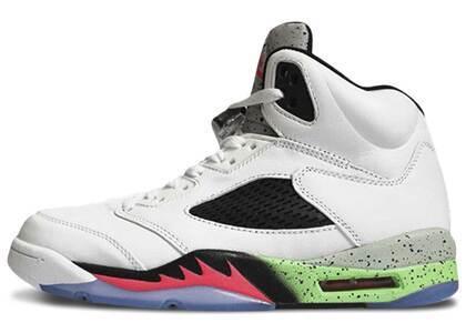 Nike Air Jordan 5 Retro Poison Greenの写真