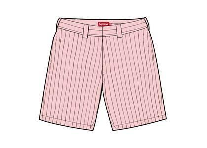 Supreme Work Short Pink Stripe (SS21)の写真