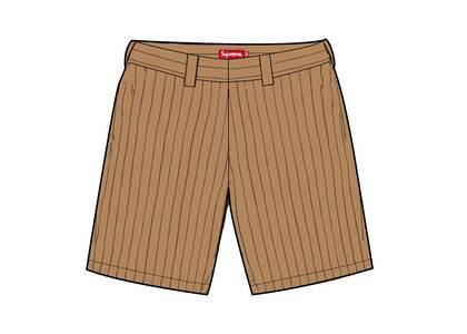 Supreme Work Short Brown Stripe (SS21)の写真