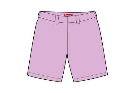 Supreme Work Short Pink (SS21)の写真