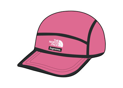 Supreme × The North Face Summit Series Outer Tape Seam Camp Cap Pink (SS21)の写真