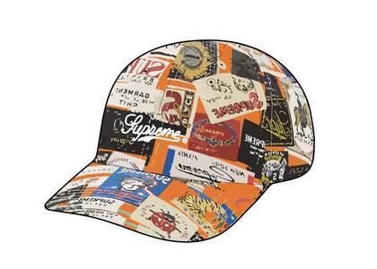 Supreme Labels 6-Panel Orange (SS21)の写真