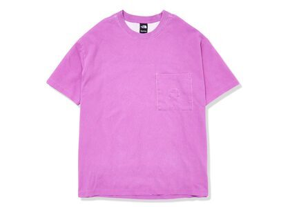 Supreme × The North Face Pigment Printed Pocket Tee Pink (SS21)の写真