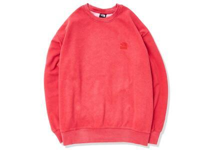 Supreme × The North Face Pigment Printed Crewneck Red (SS21)の写真