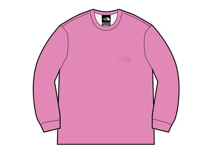 Supreme × The North Face Pigment Printed Crewneck Pink (SS21)の写真