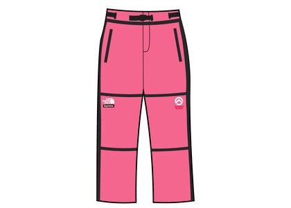 Supreme × The North Face Summit Series Outer Tape Seam Mountain Pant Pink (SS21)の写真