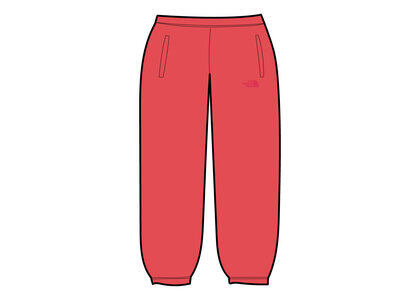 Supreme × The North Face Pigment Printed Sweatpant Red (SS21)の写真