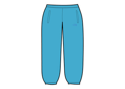 Supreme × The North Face Pigment Printed Sweatpant Light Blue (SS21)の写真