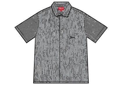 Supreme Gingham S/S Shirt Black (SS21)の写真