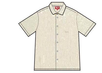 Supreme Gingham S/S Shirt Tan (SS21)の写真