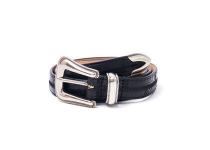 Supreme Patchwork Ranger Belt Black (SS21)の写真