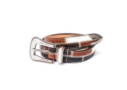 Supreme Patchwork Ranger Belt Brown (SS21)の写真