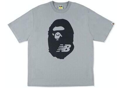 BAPE x New Balance Ape Head Tee Grey (SS21)の写真