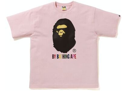 BAPE Colors Relaxed Fit Tee Pink (SS21)の写真