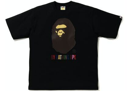 BAPE Colors Relaxed Fit Tee Black (SS21)の写真