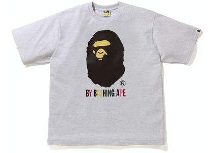 BAPE Colors Relaxed Fit Tee Grey (SS21)の写真