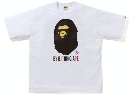 BAPE Colors Relaxed Fit Tee White (SS21)の写真