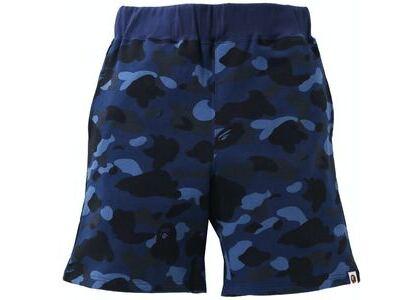 BAPE Color Camo Sweat Shorts Blue (SS21)の写真