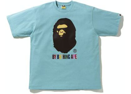 BAPE Colors Relaxed Fit Tee Blue (SS21)の写真