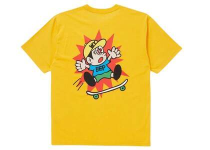 The Black Eye Patch  × Wasted Youth Children At Play Tee Yellow (SS21)の写真