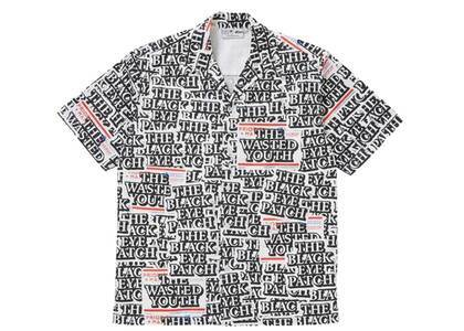 The Black Eye Patch  × Wasted Youth Sticker Covered S/S Shirt Multi (SS21)の写真