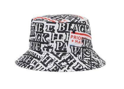 The Black Eye Patch  × Wasted Youth Sticker Covered Bucket Hat Multi (SS21)の写真